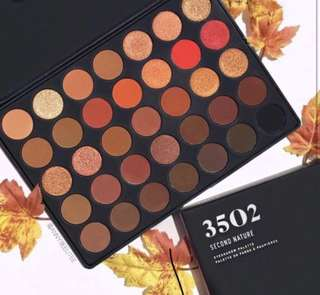 [✨SLOTS 0/15] Morphe 3502 Second nature eyeshadow palette po