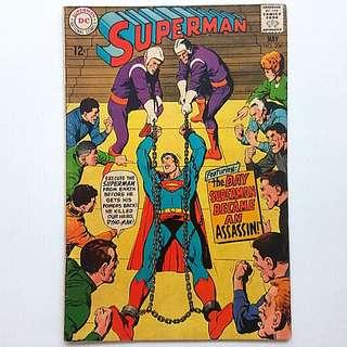 DC Comics Superman 206 Very Fine Condition Silver Age
