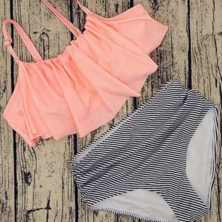Flowy Two Piece Swimwear