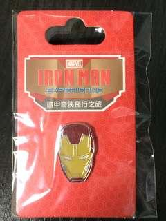 香港迪士尼 徽章 Disney iron man