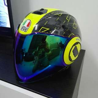 AGV FLUID free visor colour