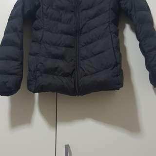 Uniqlo Winter Jacket Size 140 Black