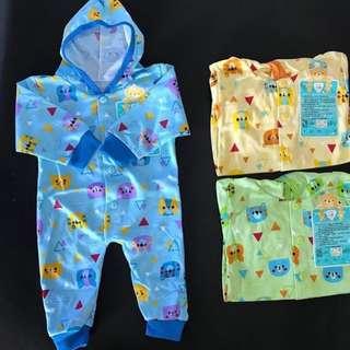 Baju kodok bayi 0-3bulan