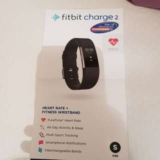 Fitbit Charge 2 Black (S)