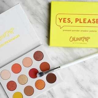 Colourpop Yes please palette Brand New