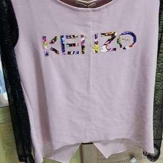 Kenzo T-shirt with fish net