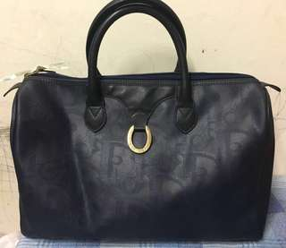 Christian Dior travel bag