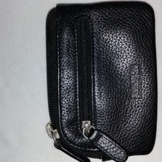 Shilton leather key pouch