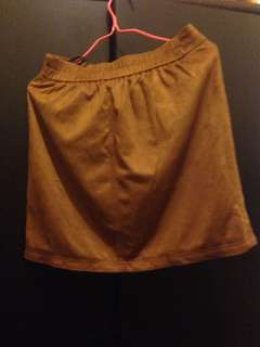 Brown skirt size 27-28