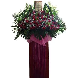 Roses Deluxe Floral Stand (Opening Stand)