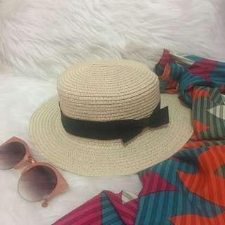 Boater Hat / Topi Pantai