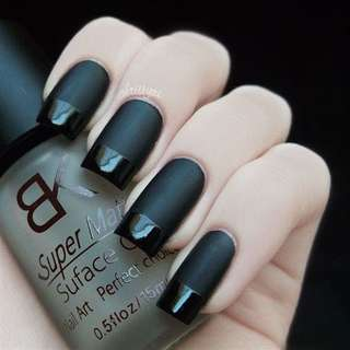 Super matte surface oil