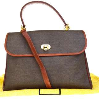 Vintage FENDI Shoulder Hand Bag連塵袋