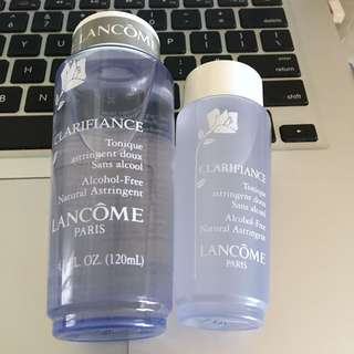 Lancome Alcohol-Free Clarifiance Toner 120ml+60ml Bundle 無酒精爽膚水兩支