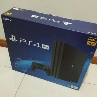 Brand New Playstation 4 Pro 1TB For Sale!