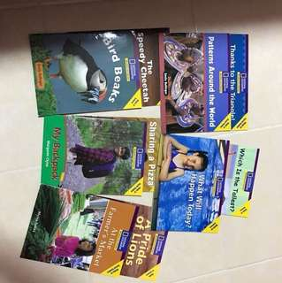 K1 National geographic books