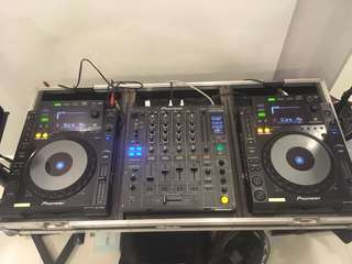 DJ SETUP FOR SALE