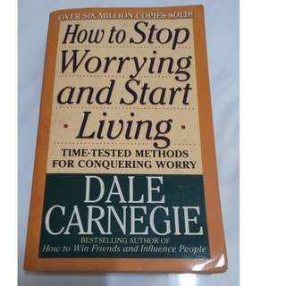 [Self Development Book!] How to Stop Worrying and Start Living