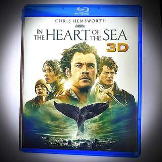 In The Heart Of The Sea 3D Bluray Only (1 Disc)(imported)(very good condition)Region A