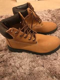 Tan Biker boots