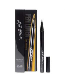 Clio Waterproof Penliner in black