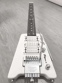 Steinberger Spirit GT Pro Deluxe White Electric Guitar
