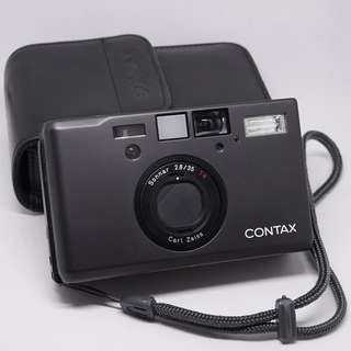 Contax T3 databack Black perfect mint condition