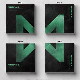 [26/03] MonstaX The Connect: Dejavu Album Preorder