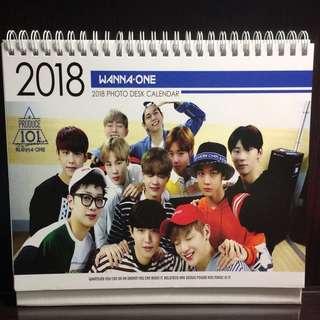 WANNA ONE 2018日曆
