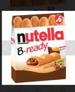 nutella B ready 3 for $12