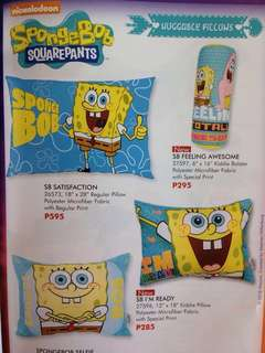 Spongebob Pillows