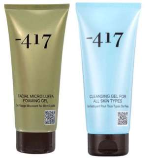 minus 417 cleansing gel