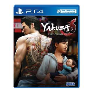 PS4 Yakuza 6: The Song of Life (R3)