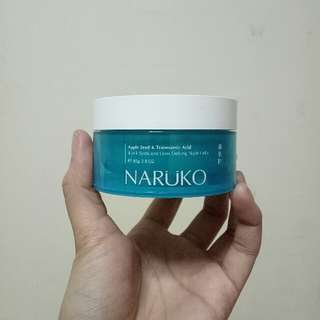 Naruko Apple Seed & Tranexamic Acid Night Gelly