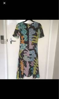 Gorman midi dress sz 6
