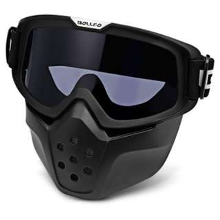 MOTORCYCLE MASK GOGGLES (GRAY)