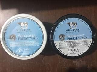 Scentio Whitening Facial Mask/Scrub