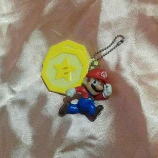 Super Mario keychain from Japan