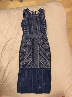 Aijek Blue Dress