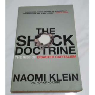 [Educational Book] The Shock Doctrine: The Rise of Disaster Capitalism