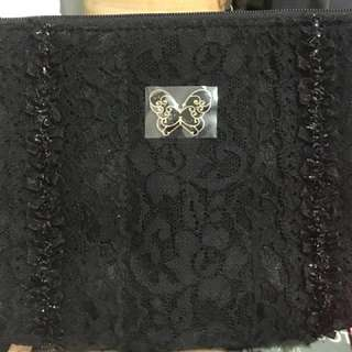 Anna Sui cosmetic pouch