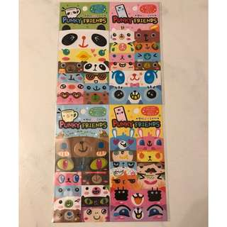 Punky Friends Stickers