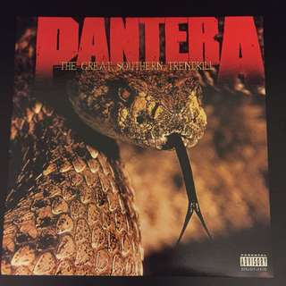 Pantera -The Great Southern Trendkill (1996) Heavy Metal Rock 2xLP Record Vinyl