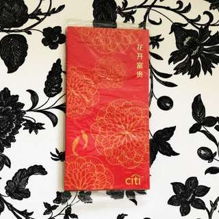 BN Citibank 8-pc sealed pack ang pow red packets