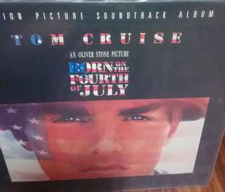 Vg+ born on the fourth of July record vinyl soundtrack