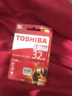 Toshiba micro sd card brand new 32gb