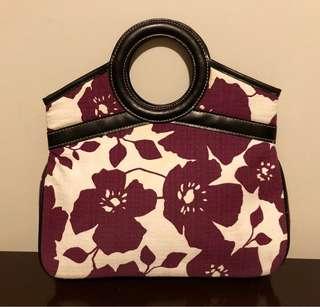 Preloved Authentic Victoria's Secret Floral Bag
