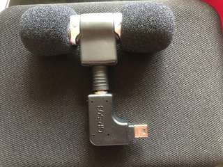 External microphone for GoPro 3+ /4