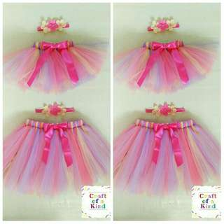 MTO mother and daughter tutu skirt