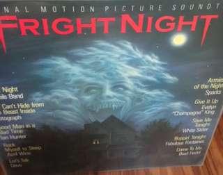 Vg+ fright night classic ost record vinyl